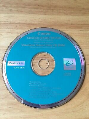 Canon CanoScan FB630U Setup CD-Rom - PC • 2.50£