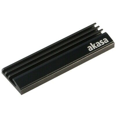 Akasa M.2 SSD Aluminium Heatsink - Passive Cooling Kit For SSD • 8.95£
