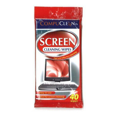 40 Phone Gadget Screen Cleaning Wet Wipes Laptop Computer IPad Monitor UK • 3.35£