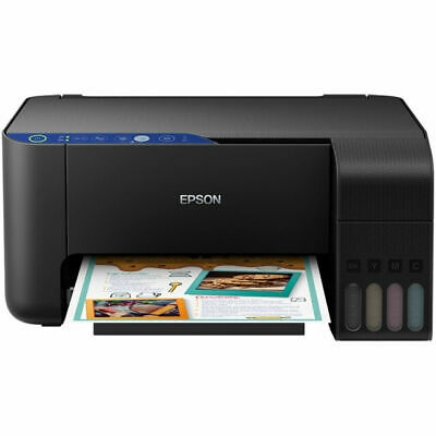 Epson EcoTank All-in-One Wi-Fi Printer ET-2711 Save Up To 90% On Ink Costs • 185£
