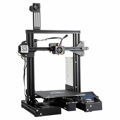Used Creality Ender 3 Pro 3D Printer DIY Printer Mean Well Power 220x220x250mm • 160£