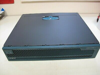 Cisco 3725 Multiservice Access Router Used • 29.99£