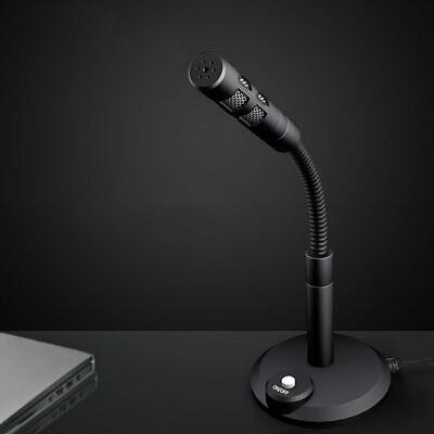 USB Microphone Mini Recording Vocals Mic Podcast Speech Gaming Chat For Phone PC • 10.99£