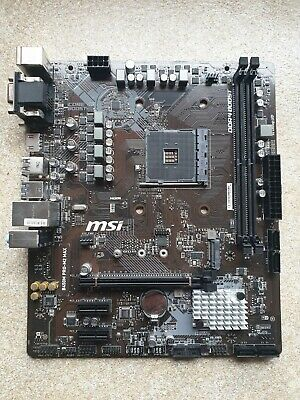 MSI B450M PRO-M2 MAX AM4 MATX Motherboard (No Mounting Hardware) • 44.99£