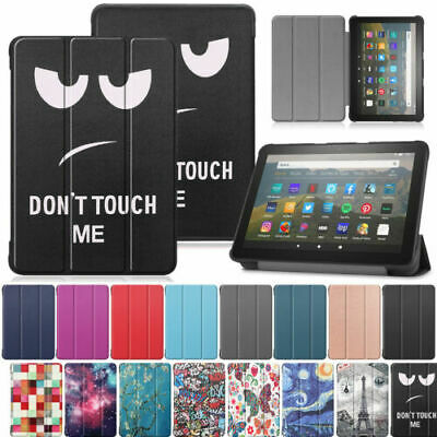 For Amazon Kindle Fire HD 8 /HD 8 Plus 2020 Leather Smart Case Stand Flip Cover • 7.69£