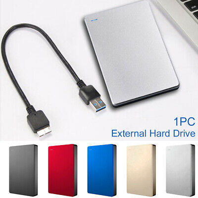 USB 3.0 500GB/1TB/2TB External Hard Drive Disk HDD 2.5'' For PC Laptop Portable • 30.99£