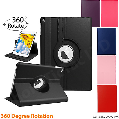 Leather 360 Rotating Smart Case Cover Apple IPad Air 2 Pro 12.9 Air 10.5 Mini 5 • 5.78£