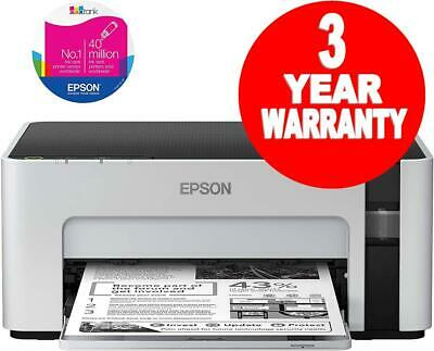 Epson EcoTank ET-M1100 A4 Mono Printer - Enough Ink Included To Print 5000 Pages • 113.99£