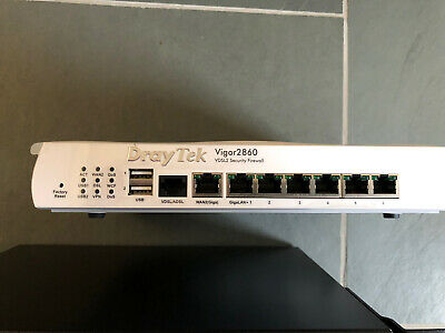 Draytek *LOT* P1090 G1241 Vigor 2860 AP900 PoE Switch • 160£