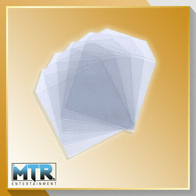 100 X CD/DVD Clear Plastic High Quality Wallets - 80 Micron • 3.99£