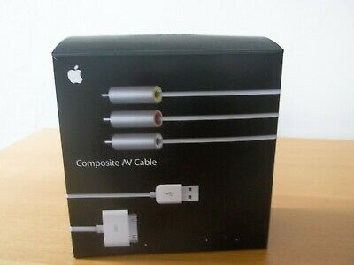 Apple Composite AV Cable - Boxed And Never Used • 5£