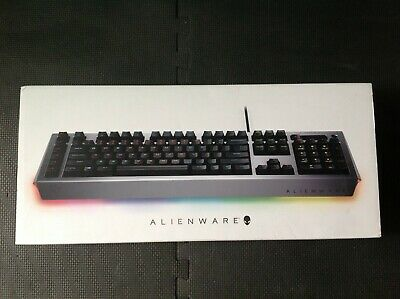 Alienware AW768 Pro Mechanical Gaming Keyboard Black / Silver (Dell) • 40£