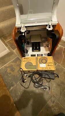 Xyz Da Vinci Jr. 3d Printer 1.0 . USED NO BOX! • 150£