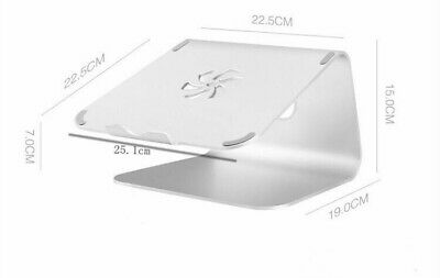 Aluminum Laptop Stand Tablet Holder Docking For 10-17Inch Notebook Laptop PC  • 13.90£