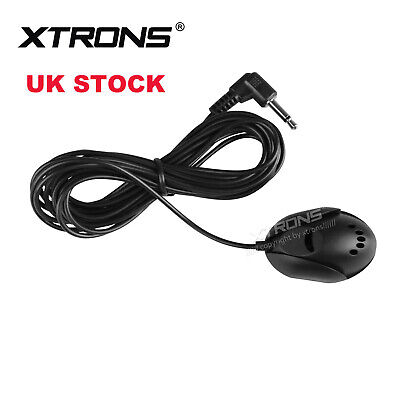 UK Hands Free Mini Microphone For PC Laptop Notebook Car DVD Player Stereo Radio • 3.99£