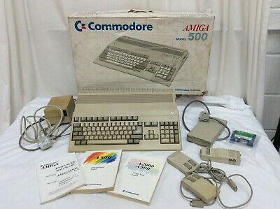 Commodore Amiga 500 Computer Boxed With User Manual Untested  • 84£