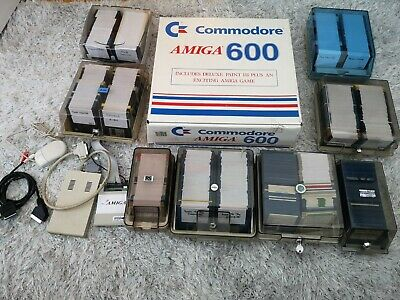 Beautiful Boxed Commodore Amiga A600 Computer Collector Condition Recapped  • 849£