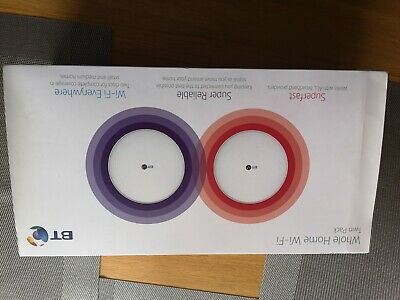 BT Whole Home System Wi-Fi Twin Pack  • 4.20£