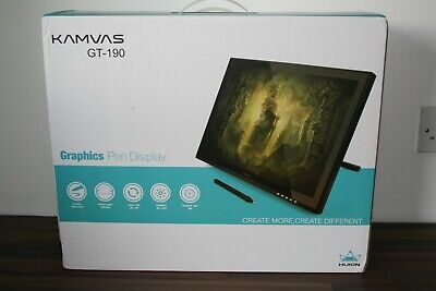 Huion GT-190 19 Inches Digital Pen Display Graphics Tablet - Opened Never Used • 90£