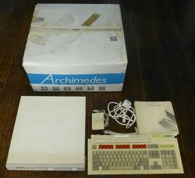 Acorn Archimedes A310 Computer, Boxed In Working Condition. • 600£