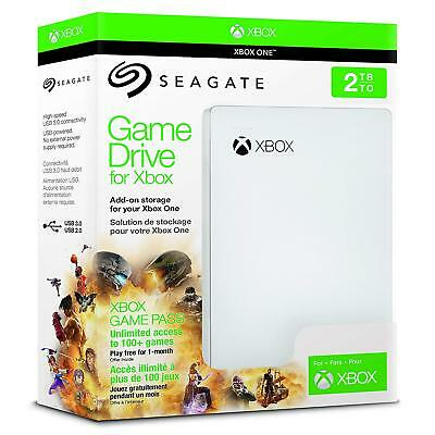 2000GB Game Drive For Xbox USB 3.0 Portable External Hard Drive Storage Official • 89.98£
