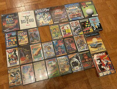 Large Lot Of 30 Amstrad CPC Cassette Games 464 6128 • 26£