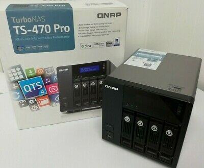 QNAP TurboNAS TS-470 Pro - Data Storage, Backup, File Sharing • 399£