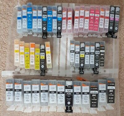 47 CANON 526 And 527 Empty Ink Cartridges • 4.99£