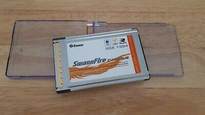Swannfire Cardbus Firewire IEEE 1394 PCMCIA Adapter • 15£