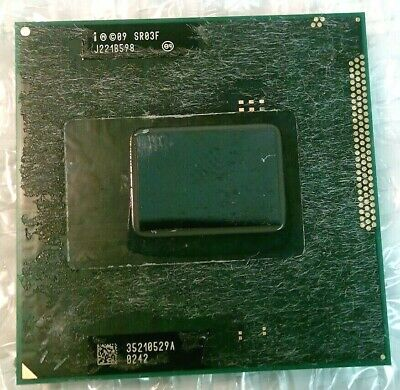 Intel SR03F Core I7-2620M 2.7Hz Socket G2 Dual-Core CPU Processor • 49.99£