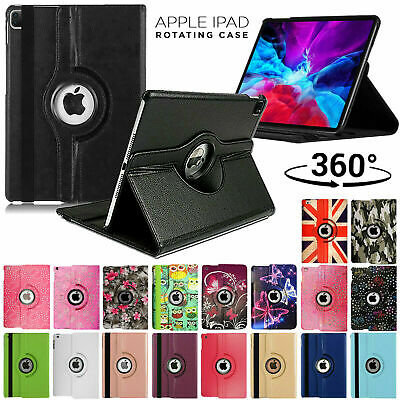 For Apple IPad 8th Generation 10.2  (2020) 360° Rotating PU Leather Case Cover • 4.49£