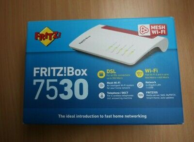 Fritz!Box 7530 Modem Dual Band WiFi Router • 98£