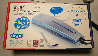 VoIP Skype Cyberphone, Home Phone  • 9.99£