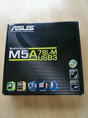 Asus M5A78L-M-Usb3 Motherboard AM3+ CPU • 55£