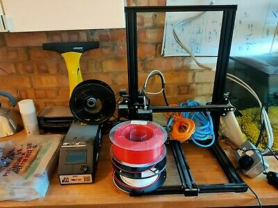 Creality Cr10s 3d Printer With Accessories • 285£