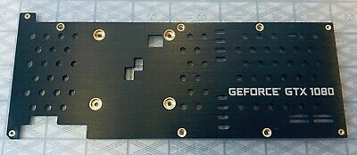 Backplate Part For NVDIA GTX 1080 REFERENCE PCB Graphics Card (Backplate Only) • 22.99£