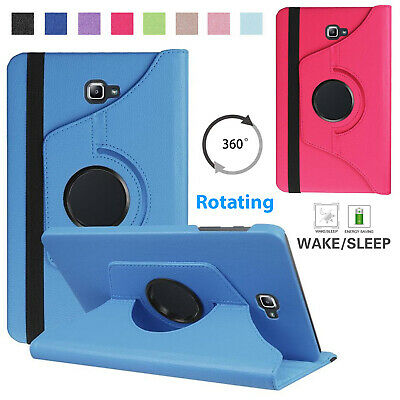 Lightweight 360 Rotate Leather Case Cover For Samsung Tab A 10.1  SM: T580/T585  • 5.44£