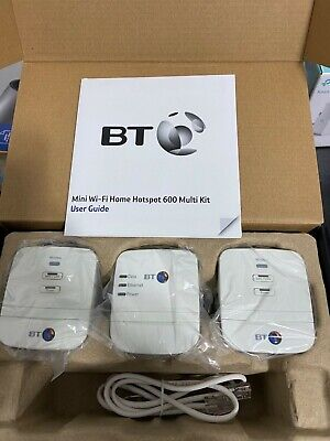 BT Mini Wi-Fi Home Hotspot 600 Multi Kit - Boxed With Instructions And Codes • 18.50£