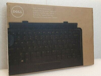 New Genuine Dell K11A Venue 11 Pro Slim Tablet Keyboard UK English Layout 0330X • 39.94£