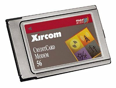 Xircom Credit Card Modem 56 • 7.50£