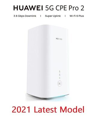 Huawei CPE Pro 2 H122-373 Brand New 2021 Version 5G 4G Router Replaces H112-372 • 419.99£