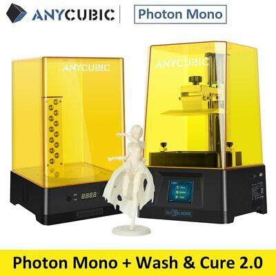 ANYCUBIC Photon Mono Faster Printing Speed 3D Printer & Wash And Cure Machine 2 • 209£