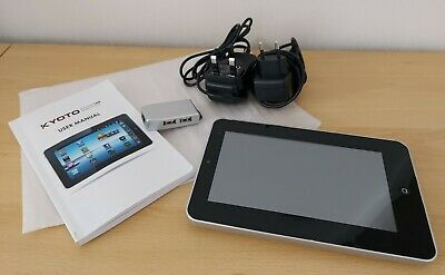Tablet KYOTO TAB M7000A Mid Tablet Little Used- 3pin &2 Pin Charger+Transfer Box • 23£