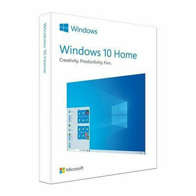 Windows 10 Home Product Key DVD USB Win 10 Home Activation Key Licence Key Card • 21.99£