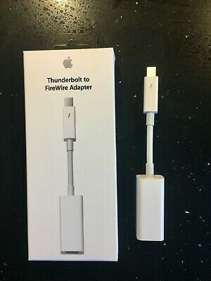 Genuine Apple Thunderbolt 2 To FireWire 800 Adapter (Model A1463) • 20£
