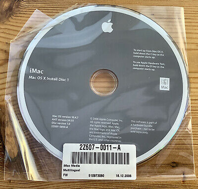 Apple IMac 2Install DVDs OSX 10.4.7 Tiger Hardware Test Everything Mac Book 2006 • 19.99£
