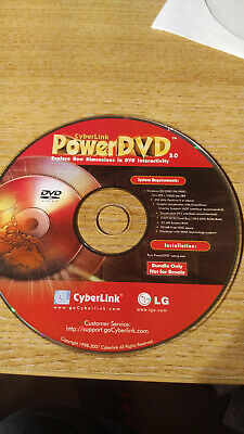 Cyberlink Power DVD 3.0 Software CD • 0.99£