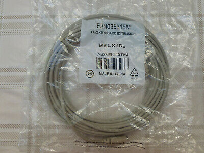 Belkin PS/2 Keyboard Extension Cable -  15M • 11.50£