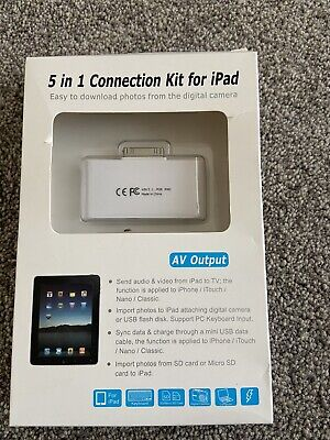 5 In 1 Connection Kit For Ipad • 4.99£