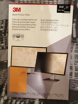 3M™ PF238W9B Privacy Filter 23.8 Inch Widescreen Monitor - (New Sealed)  • 35£